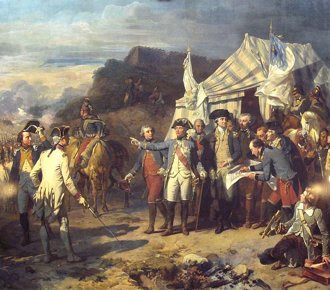 Rochambeau-and-Washington-giving-their-last-orders-before-the-battle